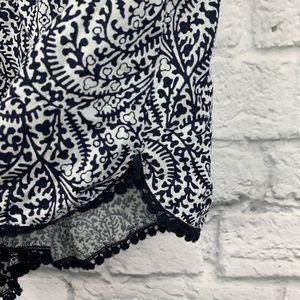 aerie Intimates & Sleepwear - Aerie Printed Pom Pom Pajama Shorts S